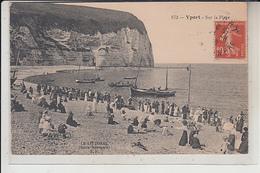 76  - YPORT -  Sur La Plage...  ( écrite En 1918...) - Yport