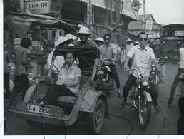 PHOTO ANIMÉE .VIETNAM .Viêt-Nam. Moto, Mobylette, Solex, Scooter. DUC-THAHN .  CAM-DO - Places