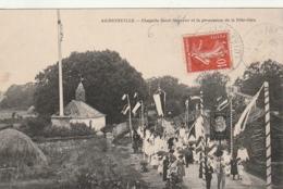 *** 44  *** AIGREFEUILLE  Chapelle Saint Sauveur Et La Procession De La Fête Dieu - Timbrée Excellent état - Otros Municipios