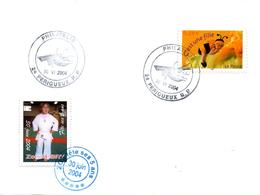 JUDO Vignette Sur Lettre - Judo