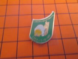 910b Pin's Pins / Beau Et Rare : Thème  POMPIERS / CONGRES DEPARTEMENTAL CAEN 1991 - Pompiers