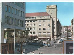 Pforzheim Leopoldplatz Tram Tramway Strassenbahn Trolley Bus 60er - Pforzheim
