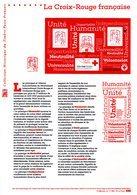 """"""" CROIX-ROUGE 2017 """" Sur Document Philatélique Officiel De FRANCE. N° YT BF 140. Parfait état. DPO - Red Cross"""