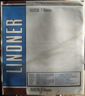 Lindner - Feuilles NEUTRES LINDNER-T REF. 802 208 P (2 Poches) (paquet De 10) - Für Klemmbinder