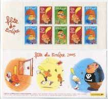 France 2005 - N° BC 3751a - Bande/Carnet -  Titeuf  - Non Plié - Neuf** - Dia Del Sello