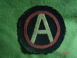 Patch Américain Army Of Occupation 3rd Armée 1918-1919 AEF WW1 - 1914-18