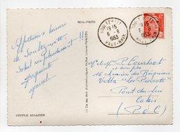 - Carte Postale SOULTZMATT (Haut-Rhin) Pour Pont-du-Leu CALAIS 6.8.1953 - 12 F. Orange Marianne De Gandon - - Marcophilie (Lettres)