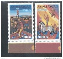 CEPT Zirkus Aserbaidschan 513 - 514 A Postfrisch MNH ** - 2002