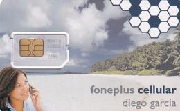 DIEGO GRCIA , PHONEPLUS CELLULAR CARD - Diego-Garcia