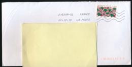 """2019 : Timbre Postal Adhésif """"Inspiration Africaine, Tissu Africain"""" Seul Sur Lettre - Marcophilie (Lettres)"""