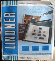 Lindner - Feuilles NEUTRES LINDNER-T REF. 802 211 (2 Poches) (1) - Für Klemmbinder