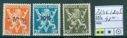 724 G-724 I  Côte 42.00€ - Belgique