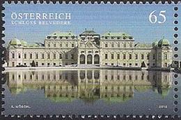 2010 Österreich Austria  Mi. 2860 **MNH Schloss Belvedere, Wien - 1945-.... 2ª República