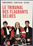 Le Tribunal Des Flagrants Délires - Pierre Desproges - Claude Villers - Luis Régo . - Comédie