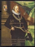2008 Liechtenstein  Mi.  Bl. 18A **MNH  Fürst Karl I. - Nuovi
