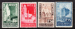 386/89*  Exposition Universelle De Bruxelles - Série Complète - MH* - LOOK!!!! - Belgique