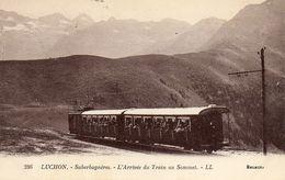 LUCHON - 31 - Superbagneres - Arrivée De Train Au Sommet - 73843 - Luchon