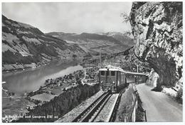 Brünigbahn Elektrische Bahn Crémaillière Zahnradbahn Cog Railway Bergbahn Tram Eisenbahn Train 1950er - OW Obwalden