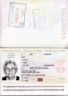 BIOMETRICAL PASSPORT , SERBIA - Documenti Storici