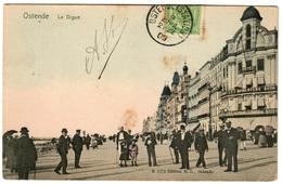 OSTENDE (1909) - La Digue - Oostende