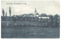 Cpa Moselle - GruB Aus Lauterfingen In Lothr - France