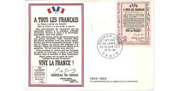 Carte 1er Jour  / Affiche De L'appel Du 18 Juin /  Paris / 18-6-64 - 1960-69