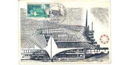 Carte 1er Jour  / Pavilllon France - Montréal   /  Paris   / 22-4-67 / Bords Abimés - Maximum Cards
