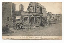 Nieucappelle Nieuwkapelle Herberg In Den Os Oorlog 1914 1918 - Autres