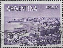 ARGENTINA 1959 Mar Del Plata - 300p - Violet FU - Argentina