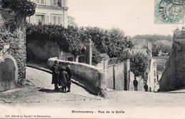 CPA MONTMORENCY - RUE DE LA GRILLE - Montmorency