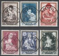 1198/1203 Antiteringszegels Moeder En Kind/La Mére Et L'Enfants Oblit/gestp Centrale - Used Stamps