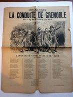 Partition Musicale : La Conduite De Grenoble Ou La Dernière étape Air De Fualdès - Partitions Musicales Anciennes