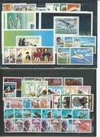Africa ,  Enormous And Tidy Mint Party  On 15 Big Stock-cards  (as Per Scans) MNH - Briefmarken