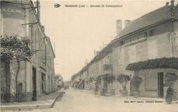 46 - GRAMAT - LOT - AVENUE DE ROCAMADOUR - VOIR SCANS - Gramat
