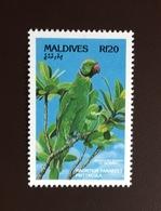 Maldives 1993 Endangered Species Only Birds From Set MNH - Vögel