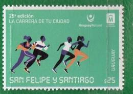 1695 URUGUAY 2019-25º Edición La Carrera De Tu Ciudad San Felipe Y Santiago-TT:Gentes,Carreras - Uruguay