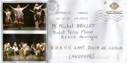 France: Les Langues Autochtones, Sur Lettre Adressée Andorre,avec Timbre à Date Arrivée - Other