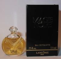 Lancôme : Magie Noire Eau De Toilette 7,5 Ml Version 1986, Parfait état - Mignon Di Profumo Donna (con Box)