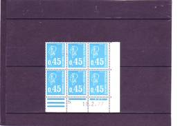 N° 1663 - 0,45F BEQUET - J De J+K - 16.2.77 Au 21.2.77 - 18.2.1977 - - Dated Corners
