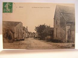 CPA 89 YONNE MERE Méré ROUTE DE LIGNY LE CHATEL 161 - Other Municipalities