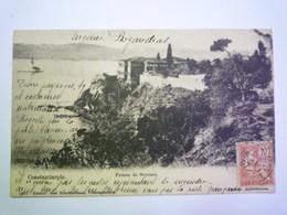 2019 - 3357  TURQUIE  Constantinople  :  Pointe De Scutari   1907  XXXX - Türkei