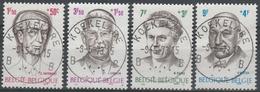 1557/1560 Personnalités/Filantropische Uitgifte Oblit/gestp Centrale - Used Stamps