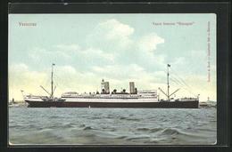 AK Passagierschiff Vapor Frances Espagne In Veracruz - Dampfer