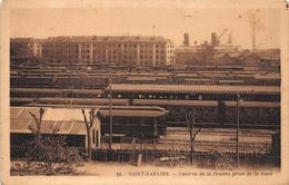 ¤¤   -    SAINT-NAZAIRE    -   Caserne De La Douane Prise De La Gare  - Train , Chemin De Fer    -   ¤¤ - Saint Nazaire