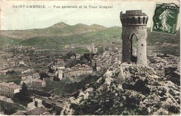 FR30 SAINT AMBROIX - Vue Générale Te La Tour Gisquel - Belle - Other Municipalities