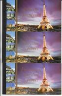ONU - 2006 - RARES CARNETS DE PRESTIGE Des 3 BUREAUX - PATRIMOINE MONDIAL : FRANCE - COTE YVERT = 115 EUR. - Gemeinschaftsausgaben New York/Genf/Wien