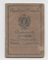 PASSEPORT TAXE 580F 1950 PARIS  -X2 - Documentos Antiguos