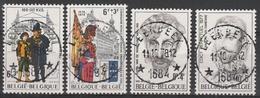 1893/1896 Culturele Oblit/gestp Centrale - Belgium