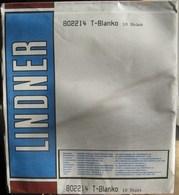 Lindner - Feuilles NEUTRES LINDNER-T REF. 802 214 P (2 Bandes) (paquet De 10) - Album & Raccoglitori