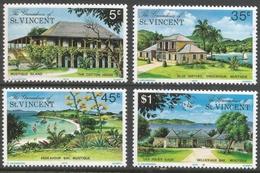 Grenadines Of St Vincent. 1974 Mustique Island. MH Complete Set SG 57-60 - St.Vincent & Grenadines